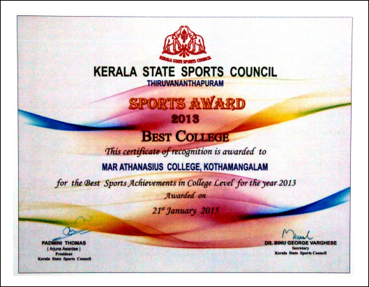 Best College in Sports Award 2013