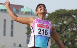 Mr. Jithin Thomas (Athletics Long Jump)