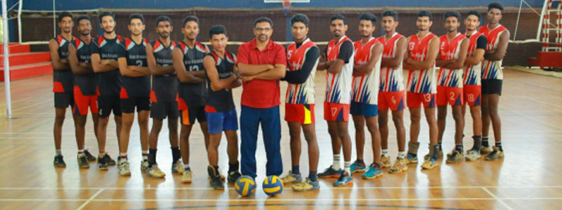 Volleyball Team of M. A. Academy
